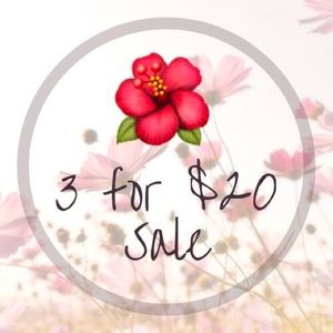 🌺 Search #aubstopsale for Participating Items